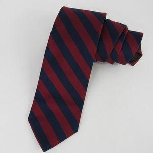 Brooks Brothers Red Blue Silk Necktie